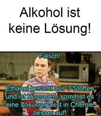 Alkohollösung